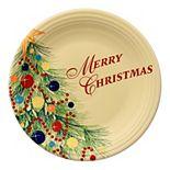 """Fiesta """"Merry Christmas"""" 11-in. Plate"""