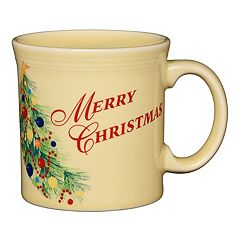 Fiesta 'Merry Christmas' 12-oz. Coffee Mug