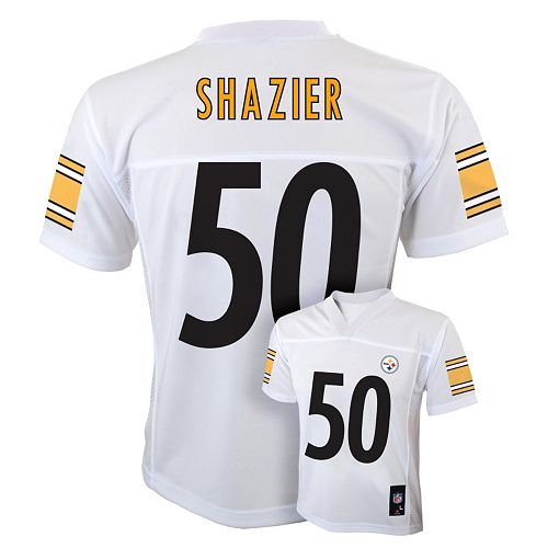 new arrival 1fb42 0e744 Boys 8-20 Pittsburgh Steelers Ryan Shazier NFL Replica Jersey