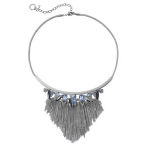 Simply Vera Vera Wang Fringe Statement Necklace