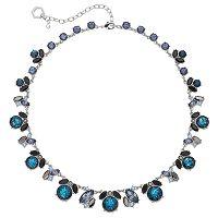 Simply Vera Vera Wang Blue Cluster Necklace