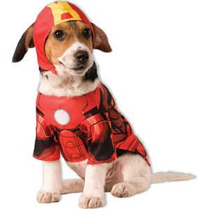 Pet Marvel Iron Man Costume