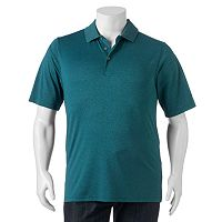 Big & Tall Grand Slam Classic-Fit Heather Performance Golf Polo