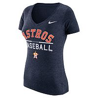 Women's Nike Houston Astros Practice V-Neck Tee