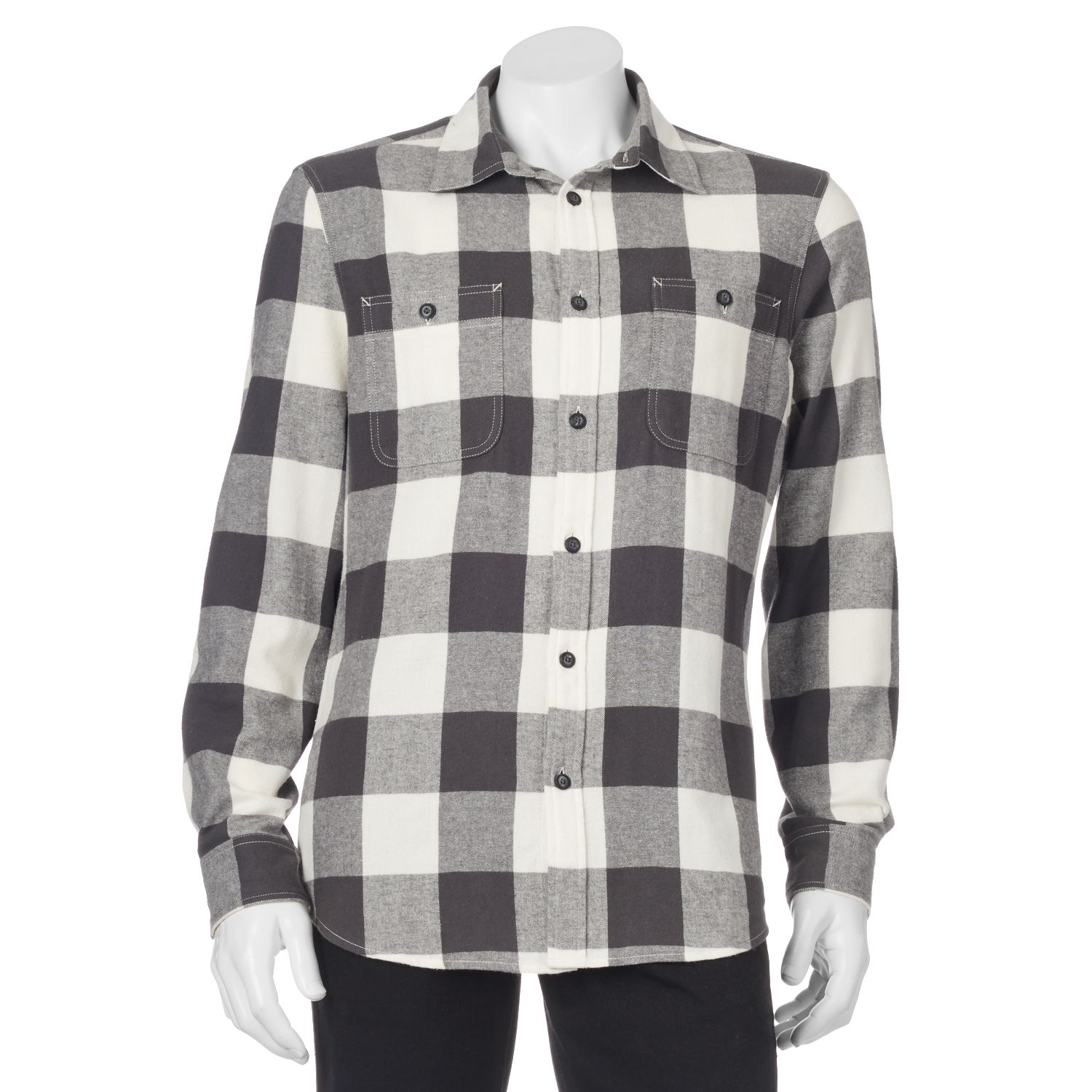 Men'S Flannel Button Down Shirts