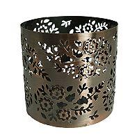 SONOMA Goods for Life™ Large Paisley Copper Finish Sleeve Candleholder
