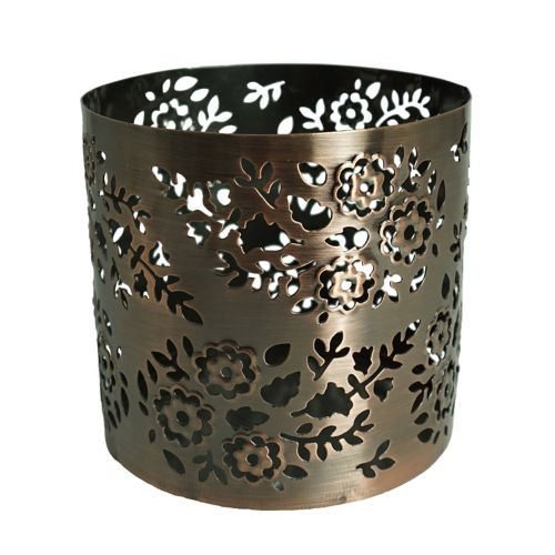 SONOMA Goods for Life™ Large Paisley Copper Finish Sleeve Candleholder