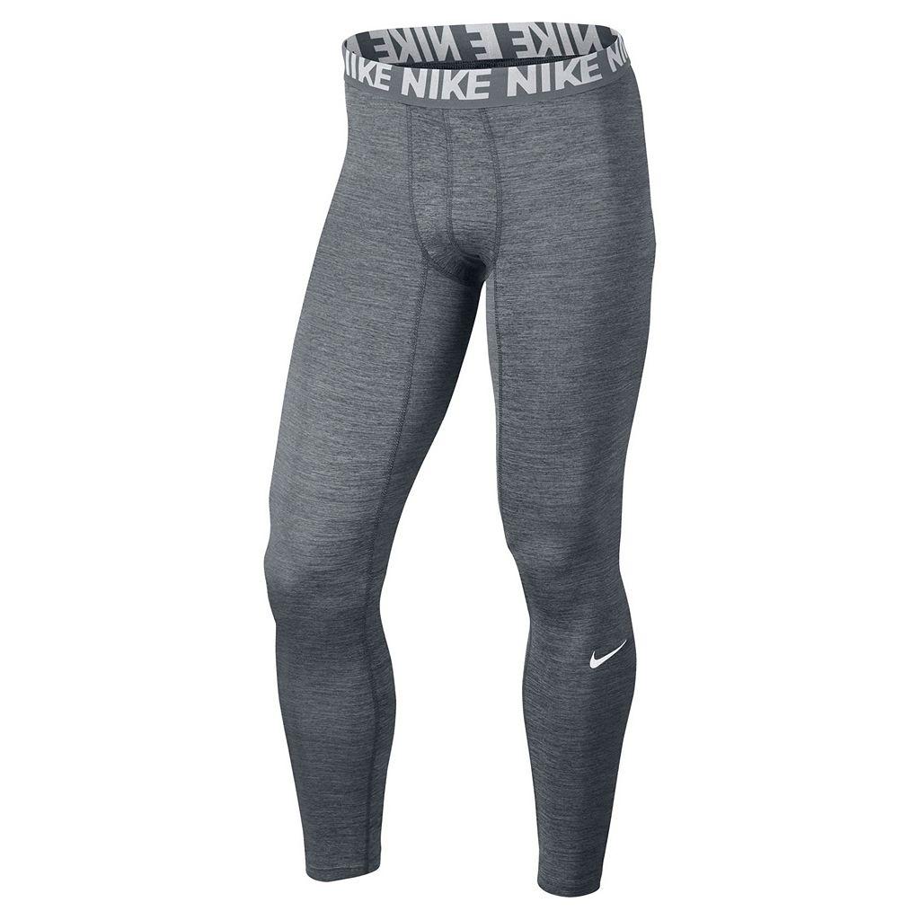 Men's Nike Heathered Base Layer Tights
