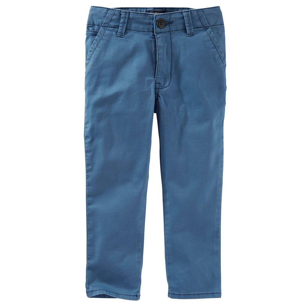 Boys 4-8 OshKosh B'gosh® Slouch Chino Pants