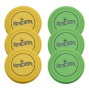 Verus Sports 6-Pack 110-Gram Spider Flying Discs