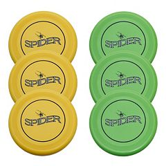 Verus Sports 6-Pack 110-Gram Spider Flying Discs