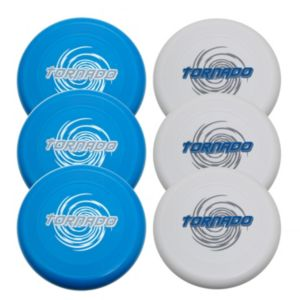 Verus Sports 6-Pack 175-Gram Tornado Flying Discs