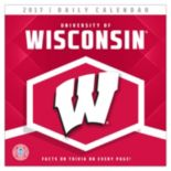 Wisconsin Badgers 2017 Daily Boxed Calendar