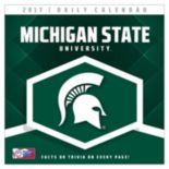 Michigan State Spartans 2017 Daily Boxed Calendar