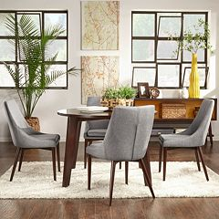 HomeVance Allegra Dining Table & Chair 5 pc Set