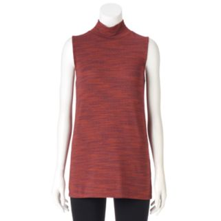 Women's Olivia Sky Space-Dyed Mockneck Tunic