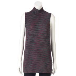 Women's Olivia Sky Space-Dyed Mockneck Tunic