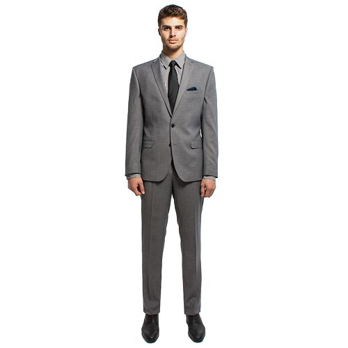 Men's Nick Dunn Modern-Fit Unhemmed Suit
