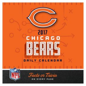 Chicago Bears 2017 Daily Boxed Calendar