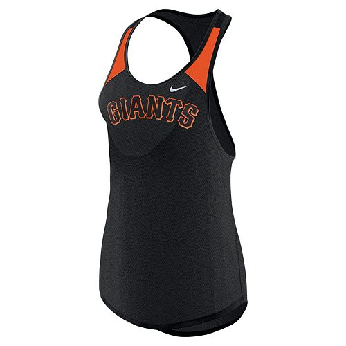 Women's Nike San Francisco Giants Wordmark Dri-FIT Tank Top