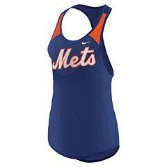 Women's Nike New York Mets Wordmark Dri-FIT Tank Top