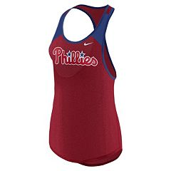 Women's Nike Philadelphia Phillies Wordmark Dri-FIT Tank Top