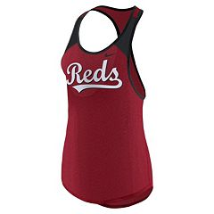 Women's Nike Cincinnati Reds Wordmark Dri-FIT Tank Top