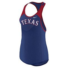 Women's Nike Texas Rangers Wordmark Dri-FIT Tank Top