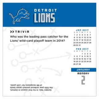 Detroit Lions 2017 Daily Boxed Calendar
