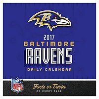Baltimore Ravens 2017 Daily Boxed Calendar