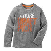 Boys 4-8 OshKosh B'gosh® Long Sleeve Screen-Printed Graphic Active Tee