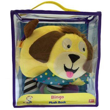 Kidsbooks Jiggle & Discover Bingo Plush Book