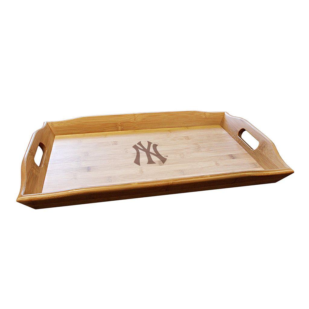 New York Yankees Bamboo Serving Tray