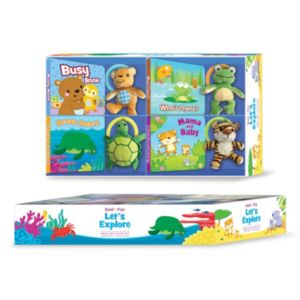Kidsbooks Read N' Play Let's Explore 8-pc. Gift Set