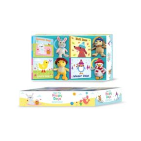 Kidsbooks Read & Play Gift Set: Happy Days