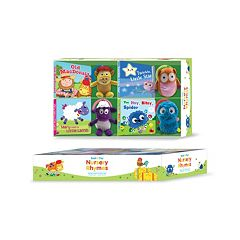 Kidsbooks Read & Play Gift Set: Nursery Rhymes