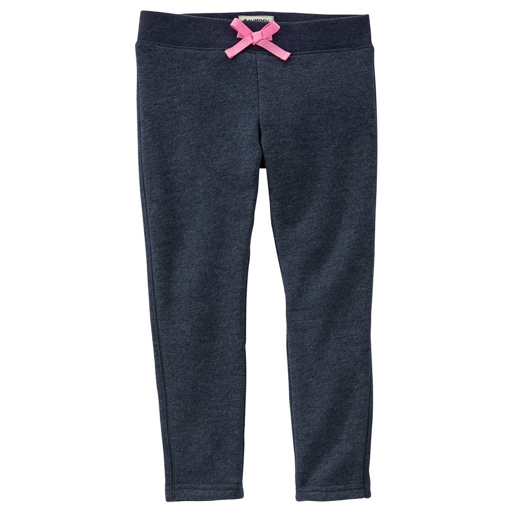 Toddler Girl OshKosh B'gosh® Solid Ribbed Waist Skinny Pants