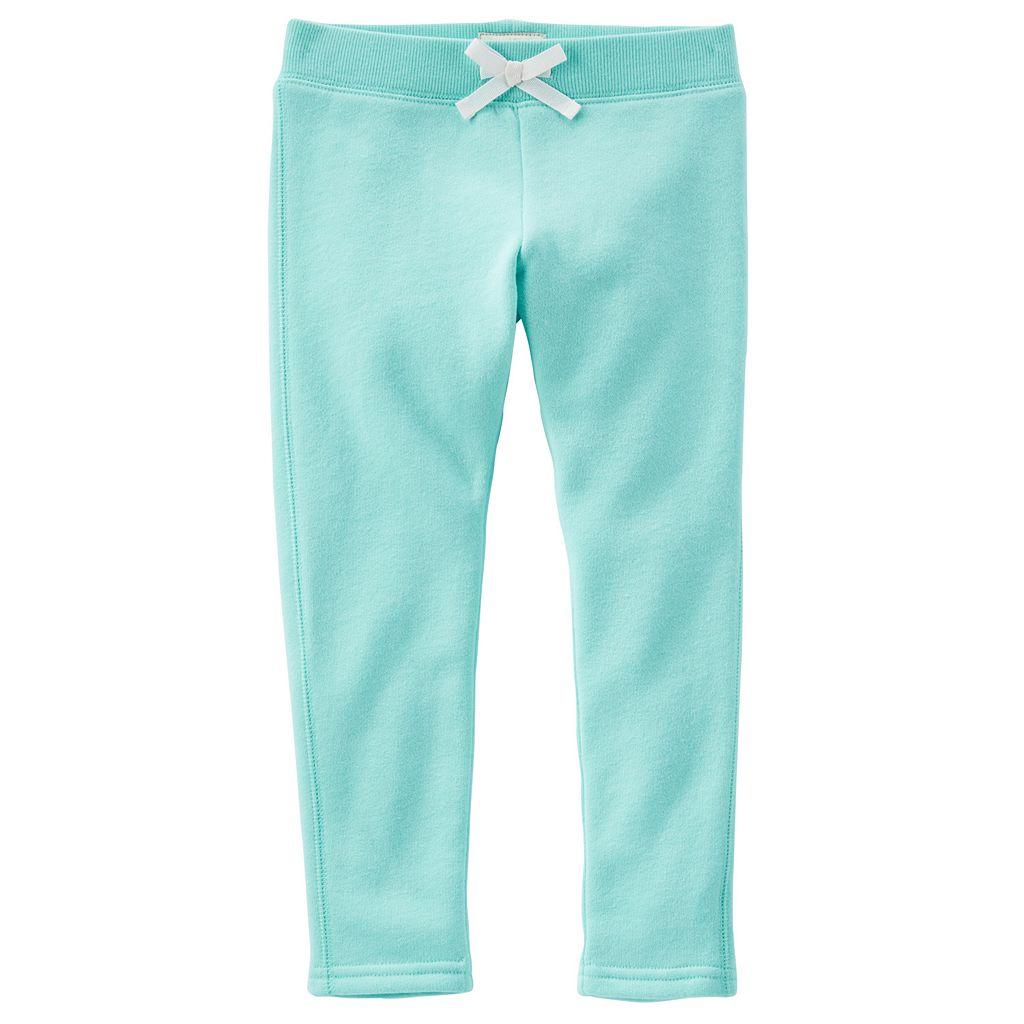 Toddler Girl OshKosh B'gosh® Solid Ribbed Waist Skinny Pants