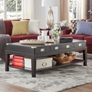 HomeVance Sanford 3-Drawer Coffee Table