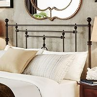 HomeVance Tinsley Quatrefoil Victorian Poster Headboard