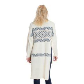 Women's MUK LUKS Snowflake Zigzag Sweater Tunic