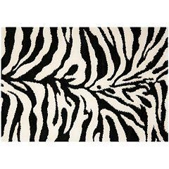 Safavieh Zebra Shag Rug