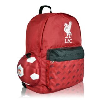 Liverpool FC Soccer Ball Backpack