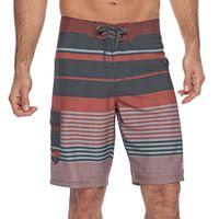 Men's Ocean Current Payton Striped Stretch Board Shorts