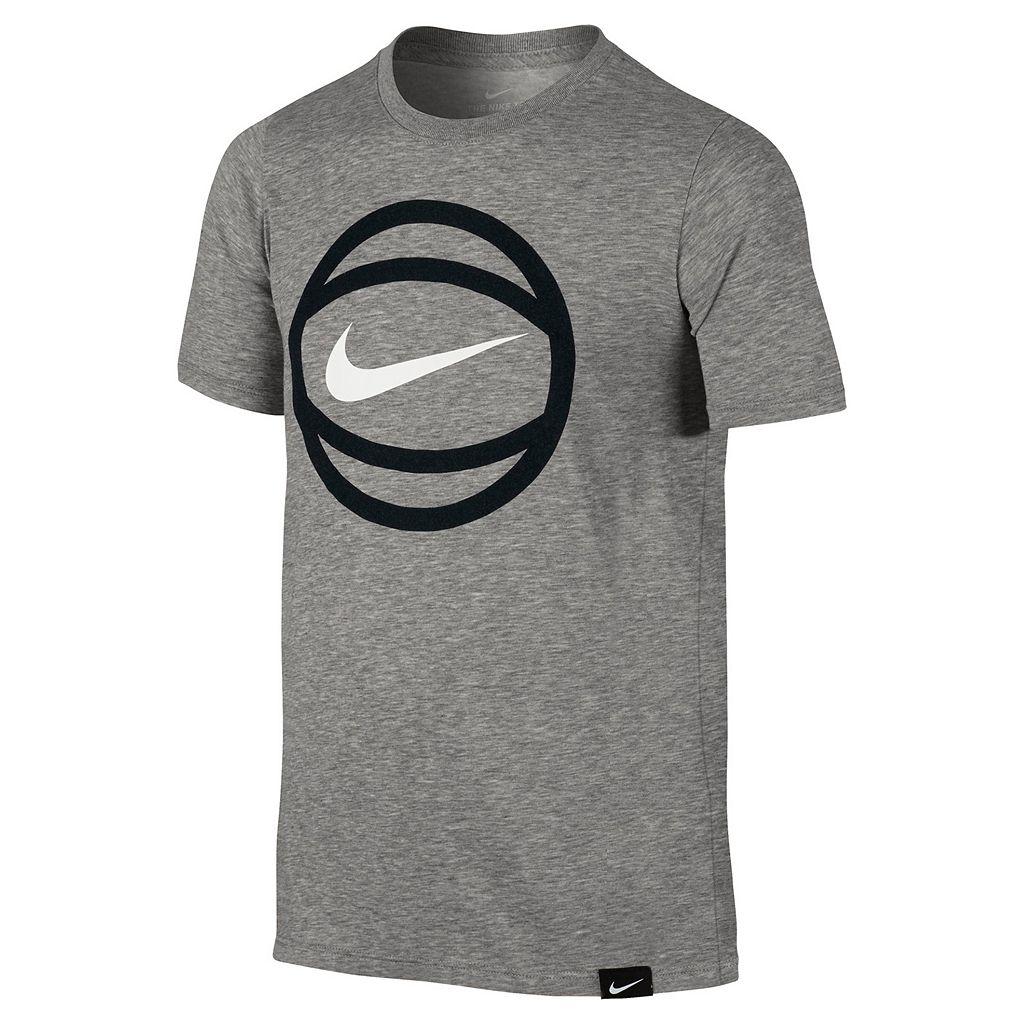 Boys 8-20 Nike Basketball Logo Tee