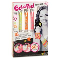 Gel-A-Peel 3-pk. Neon Accessory Kit
