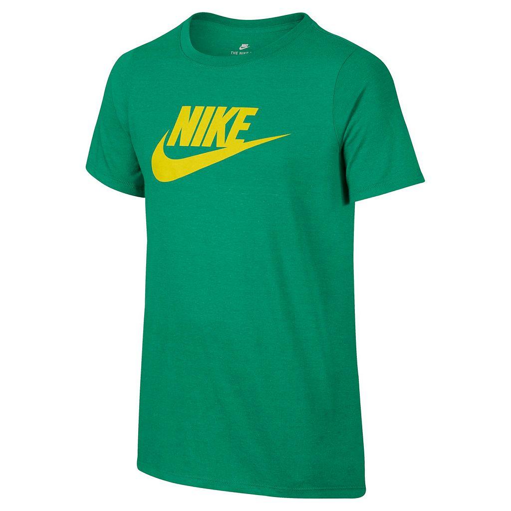 Boys 8-20 Nike Futura Logo Tee