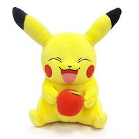 Pokémon Large Pikachu with Apple Plush