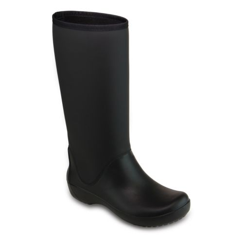 Crocs RainFloe Tall Women's Waterproof Rain Boots