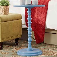 HomeVance Paige Pedestal End Table